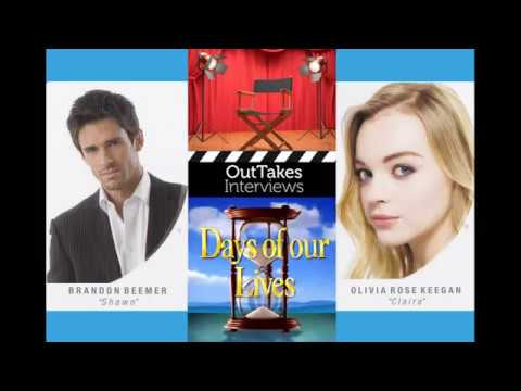 Day Of Days 2016 -- Brandon Beemer And Olivia Rose Keegan (Shawn And Claire, Days Of Our LIves)
