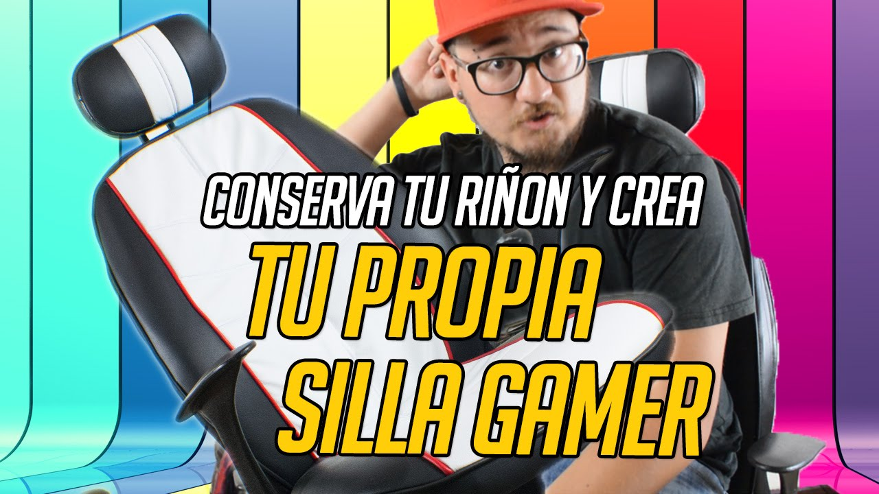 CAMBIA TU SILLA NORMAL A GAMER EN 3 PASOS  YouTube
