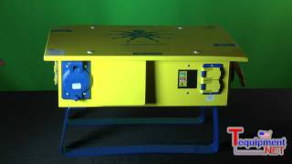 Ericson Oscar Temporary Power Distribution Centers