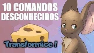 TRANSFORMICE   10 COMANDOS DESCONHECIDOS