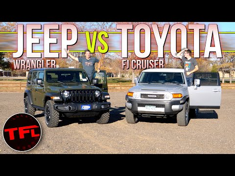The Jeep Wrangler And Toyota FJ Cruiser Just DON'T Depreciate: Which One SHOULD You Buy?
