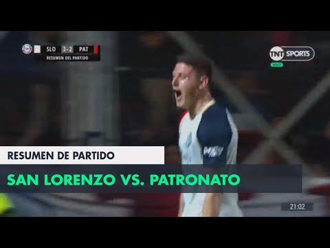 Resumen de San Lorenzo vs Patronato (3-2) | Fecha 6 - Superliga Argentina 2018/2019