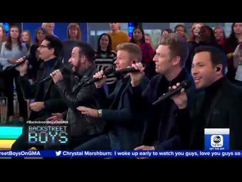 BSB Sing No Place On GMA #BSBDNA