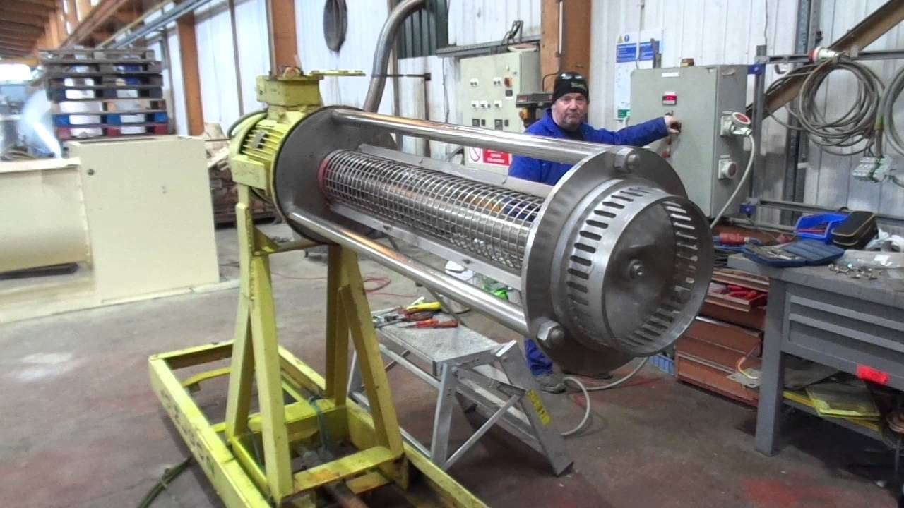 L1060-06 Used Silverson Model JX Stainless Steel High Shear Mixer TEST RUN