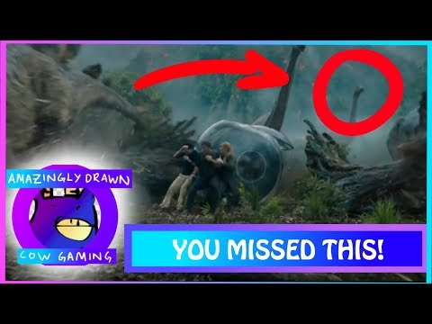 TOP 5 THINGS YOU MISSED IN THE JURASSIC PARK FALLEN KINGDOM TEASER