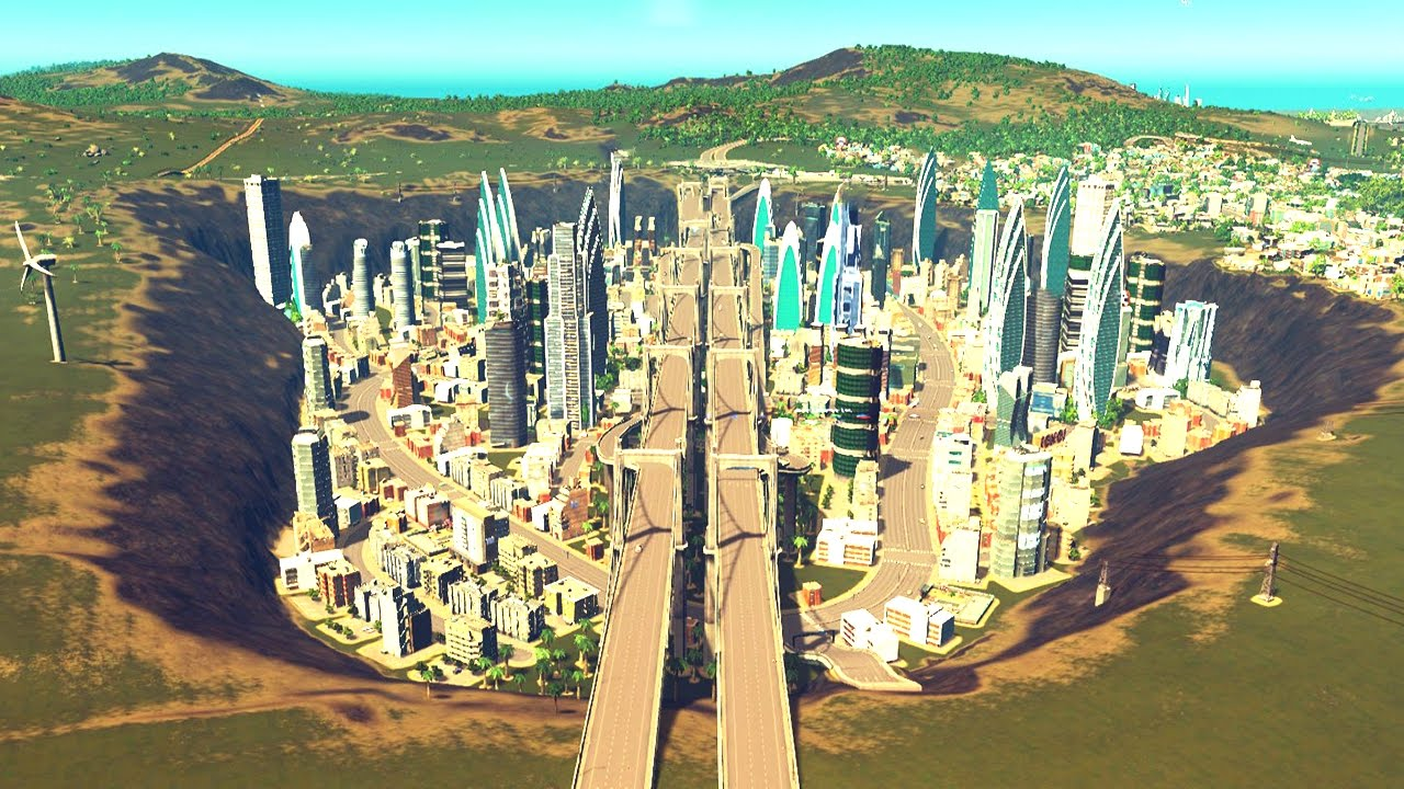 This city used to be underwater cities skylines 19 for Us city skylines photos