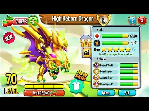 NOBLE DRAGON RENACIDO LEVEL 70 - HIGH REBORN DRAGON [NUEVO DRAGON HEROICO] - SPLONTER