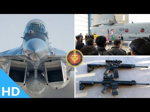 Indian Defence Updates : 72,400 SIG-716 Delivery,Russian Bark-88 For Mig-29,1st Chinook Delivery