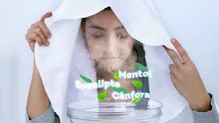 Vick Vaporub - Inalação para aliviar a congestão nasal e tosse.