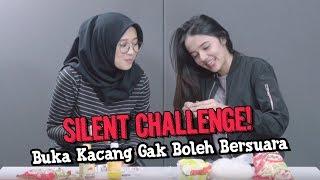 SILENT CHALLENGE! Buka Kacang Gak Boleh Bersuara, MANA BISA!!