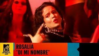 Rosalia 🎶 'Di Mi Nombre' Live EMA Performance | MTV