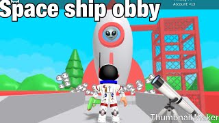Roblox|| Spaceship Obby Death count! Ft:LTC cj
