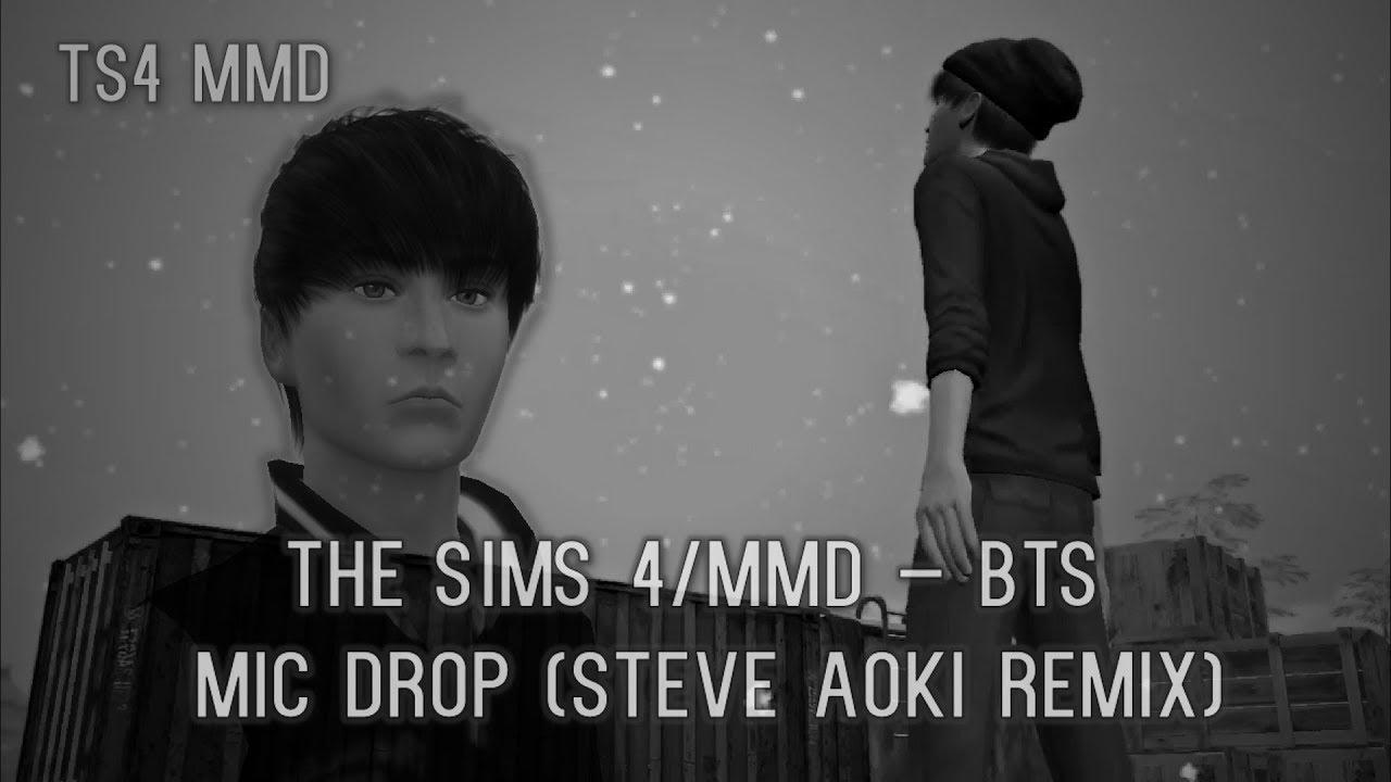 The Sims 4/MMD [Dance MV] - Mic Drop (By BTS - 방탄소년단 - Steve Aoki's Remix)  - [K-Sub]