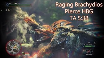 【MHWI】MR6☆ Raging Brachydios 猛り爆ぜるブラキディオス Pierce HBG TA Rules ¤5:38¤