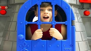 Castle Slide Playhouse Toy Funny Kids video