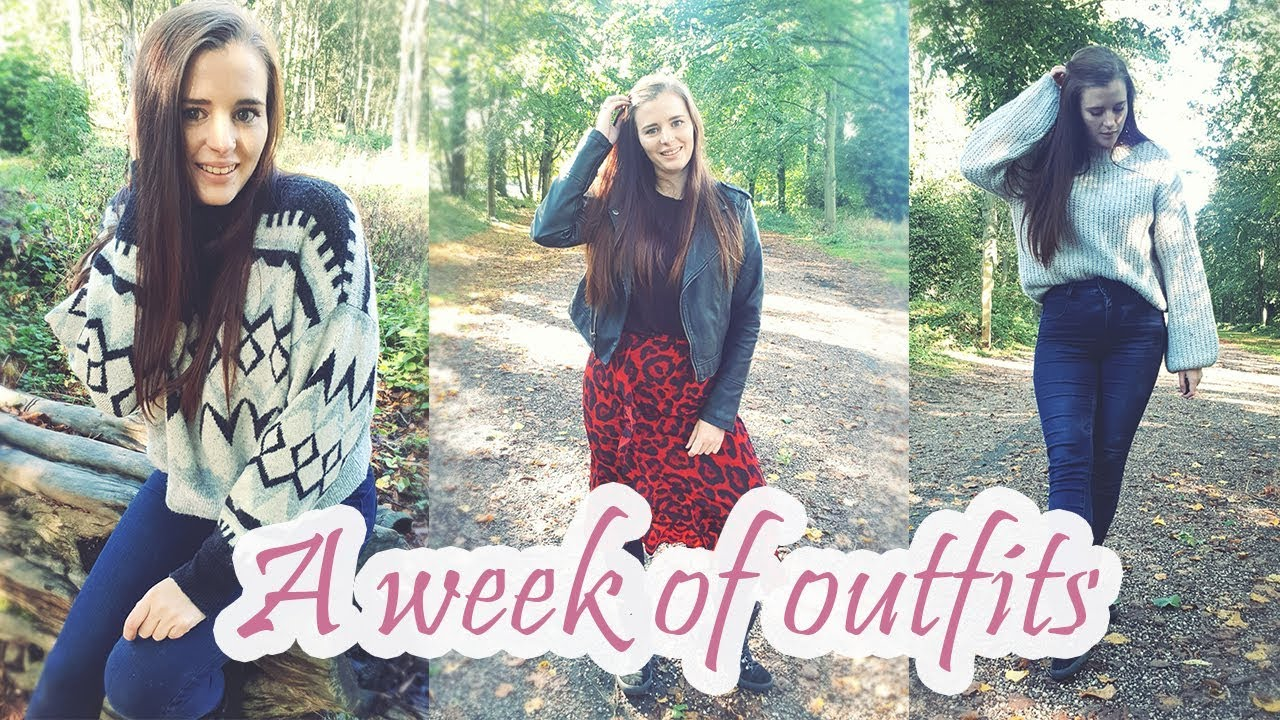 [VIDEO] – A WEEK OF OUTFITS |AUTUMN LOOKBOOK | Sarah Dee