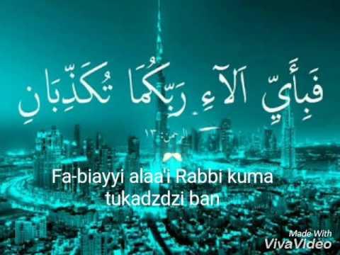 Kaligrafi Fabiayyi Ala Irobbikuma Tukadziban Nusagates