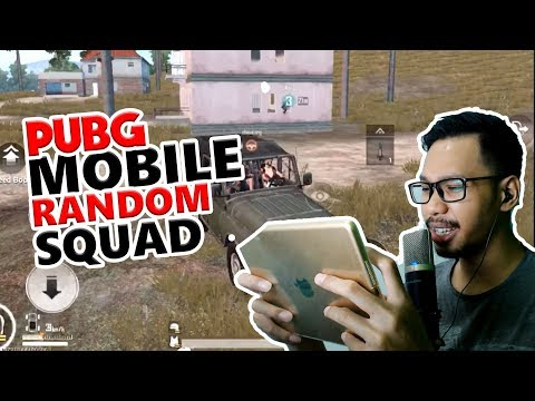 SQUAD RANDOM POCHINKI - PUBG MOBILE INDONESIA