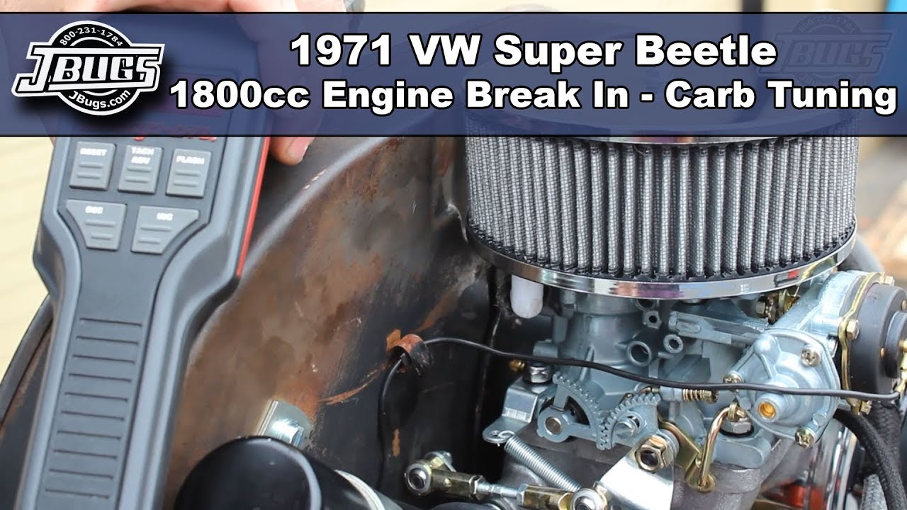 VW Super Beetle Carburetor Tuning: VW Parts | JBugs com