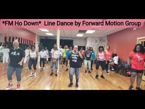 FM HO DOWN Line Dance