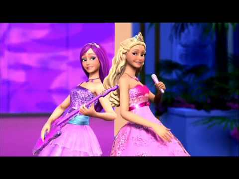 To be a Princess To be a Popstar (Barbie) -Karaoke/ Instrumental
