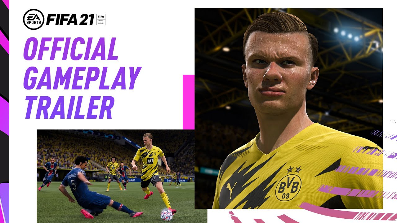 FIFA 21 gameplay trailer reveals new dribbling, positioning features & more