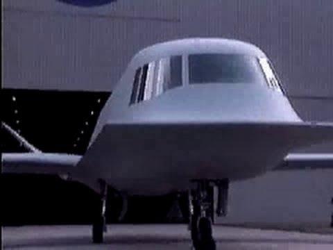 Tech one - Northrop Tacit Blue BSAX - stealth aircraft demonstrator