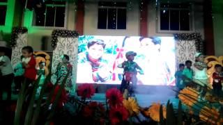 Likith Chinnari Mutha dance VVIS SAMBRAMA 2016