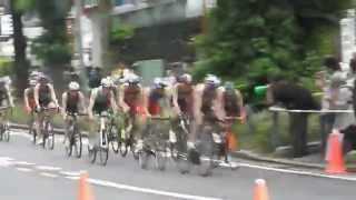 世界トライアスロン2015横浜、世界の鉄人は感動です!