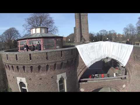 Out walking my drone, Helsingborg (DJI Phantom, GoPro, Zenmuse)
