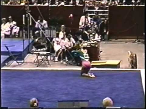 1991 U.S. Nationals--Jenny Hansen FX