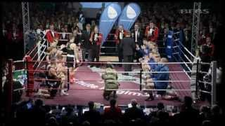 2 & 3 PARA Fight for British Army Major Boxing Title