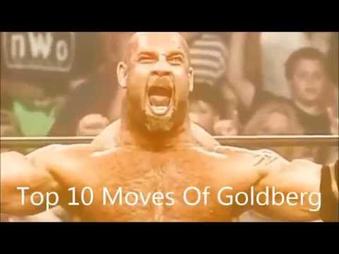 Top 10 Moves Of Goldberg