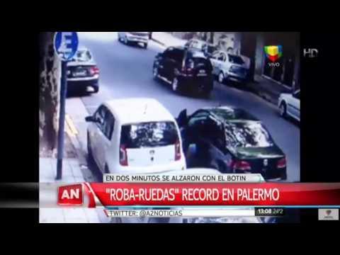 Los Roba-ruedas, récord en Palermo