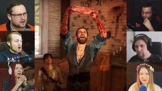 """""""Реакции Летсплейщиков"""" на Срезание Кожи с Груди из Far Cry 5"""