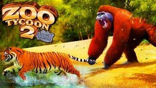 Primata Extinto e Leão Das Cavernas! | Zoo Tycoon 2 : Extinct Animals (#12) (Gameplay/PT-BR)