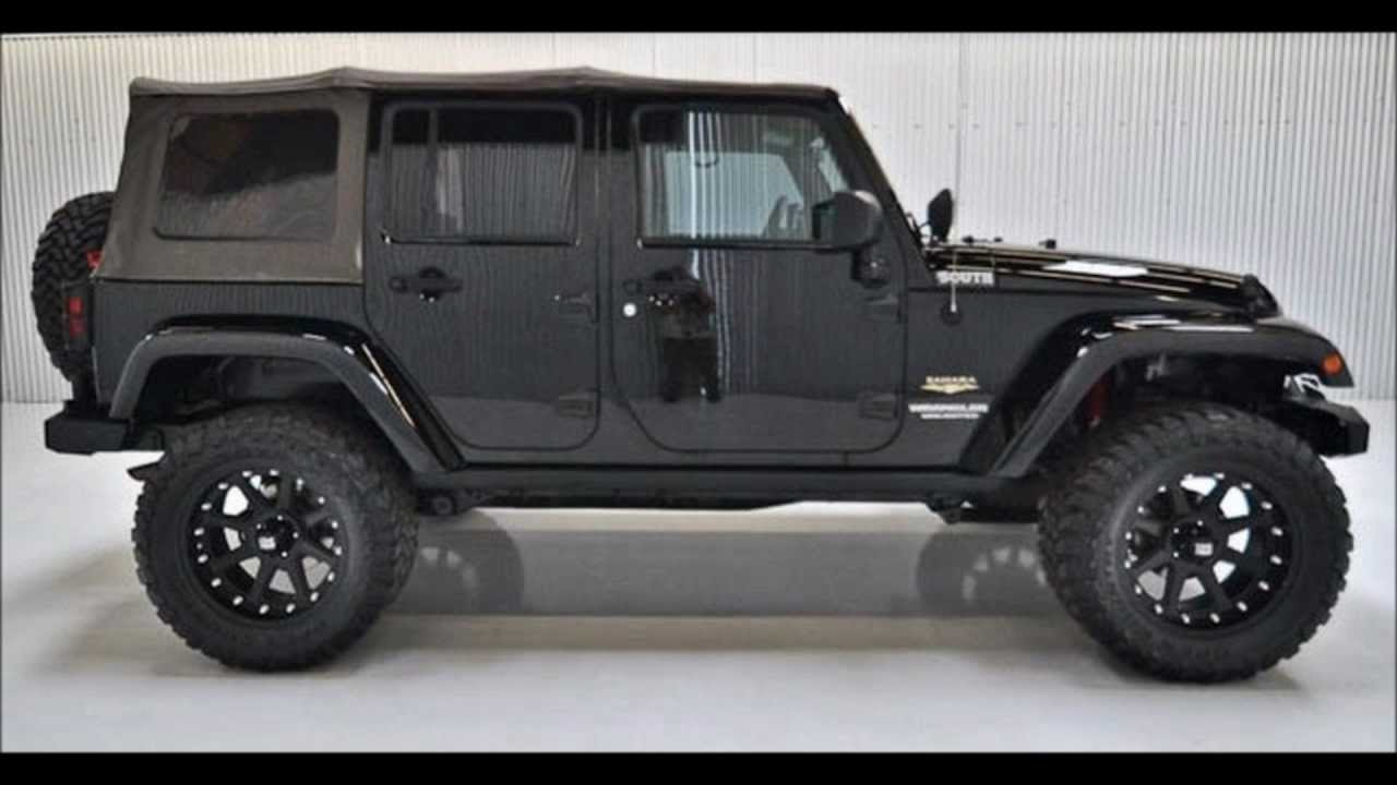 2009 Jeep Wrangler Unlimited Lifted For Sale