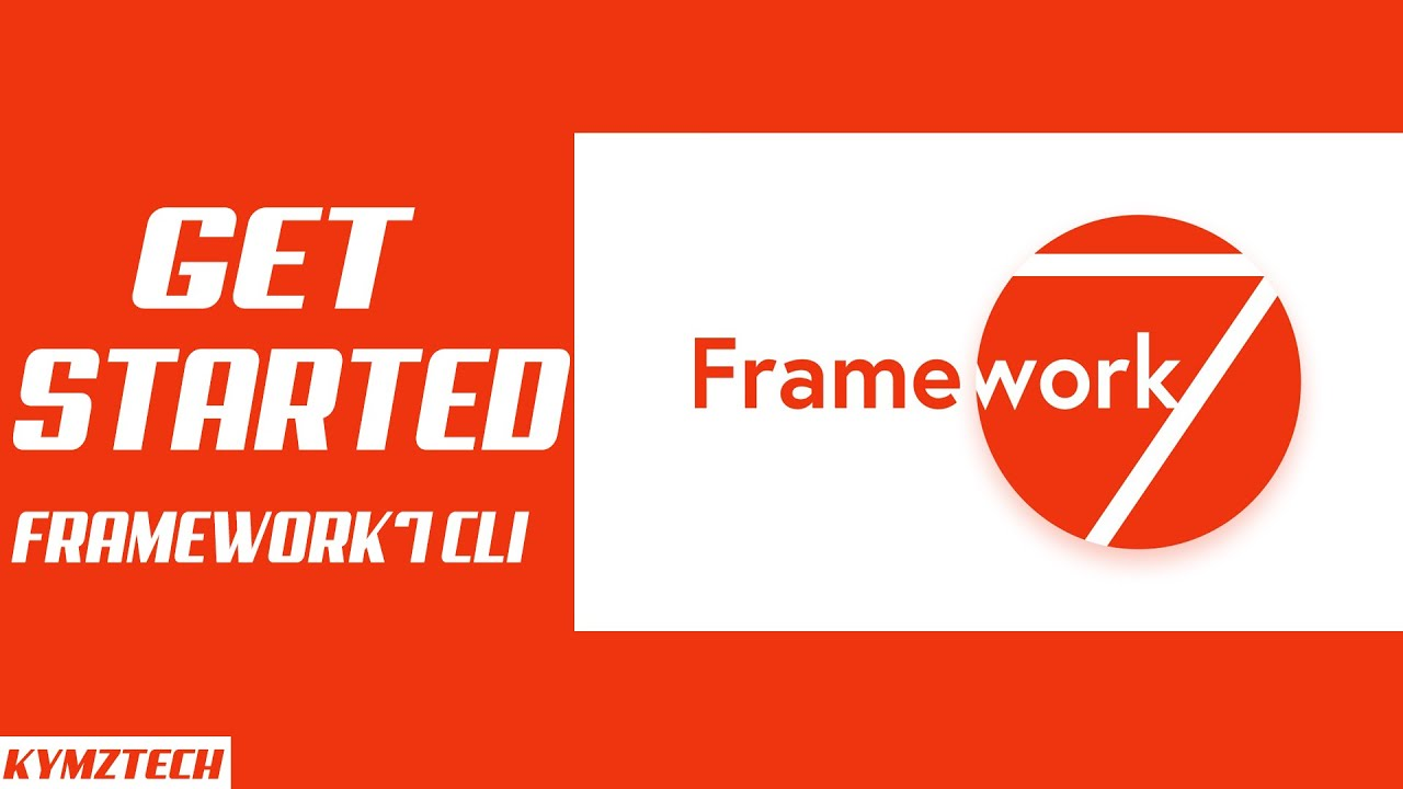 Get started with framework7 using CLI 2020