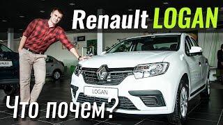 Опции Renault Logan 2018