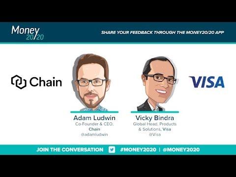 Keynote: Vicky Bindra & Adam Ludwin (Visa & Chain)