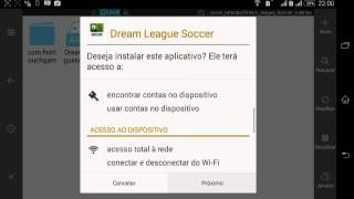 Dream league soccer Dinheiro infinito (Sem root)