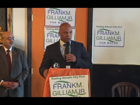 Frank Gilliam for Mayor Announcement 2/20/17
