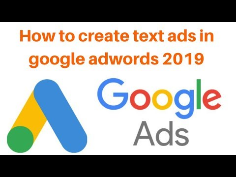 How to create text ads in google adwords 2019 | Digital Marketing Tutorial thumbnail