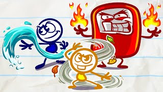 Pencilmate's FASTEST Upgrade!    Animated Cartoons Characters   Pencilmation for kids