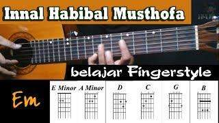 Download Lagu Innal Habibal Musthofa (Belajar fingerstyle) Cover by: Indra Ipul mp3