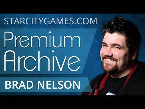 StarCityGames Premium Archive - Brad Nelson Deathblade - Daily 2 Round 1 [Magic: the Gathering]