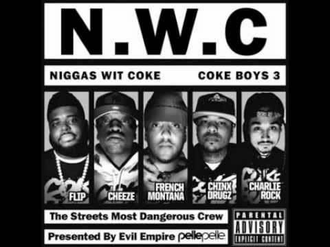 French Montana   Headquarter Feat  Red Cafe & Chinx Drugz Coke Boys 3