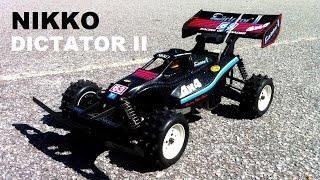 Nikko Dictator II 4WD 1/10 Vintage 1987 Buggy - RC RUNNiNG ViDEO