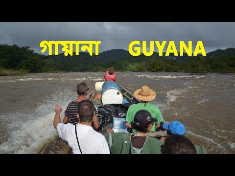 সোনার খোঁজে  । গায়ানা | Amazing facts about Guyana