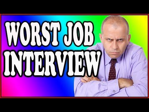 Job Interview Epic Fails